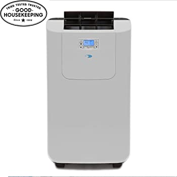 Whynter ARC-122DS 12,000 BTU Dual Hose Portable Air Conditioner, Dehumidifier, Fan with Activated Carbon Filter plus Storage bag for Rooms up to 400 sq ft, Multi