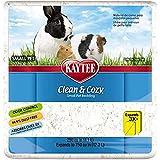 Kaytee Clean & Cozy, Biancheria da letto assorbente eccellente della carta, 12.3 L