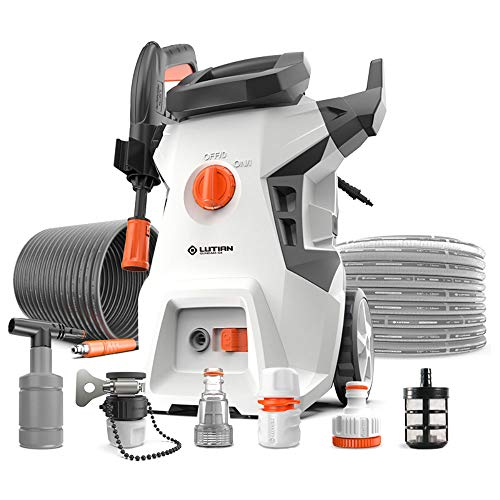Review Of @Y.T High Pressure Washer, Jet Washer 1500W Long Power Hose Car Washing Machine Terrace Cl...