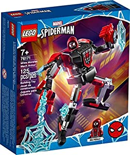 LEGO Marvel Spider-Man Miles Morales Mech Armor 76171 Collectible Construction Toy, New 2021