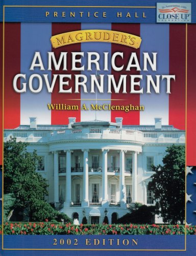 MAGRUDER'S AMERICAN GOVERNMENT STUDENT EDITION 2002C