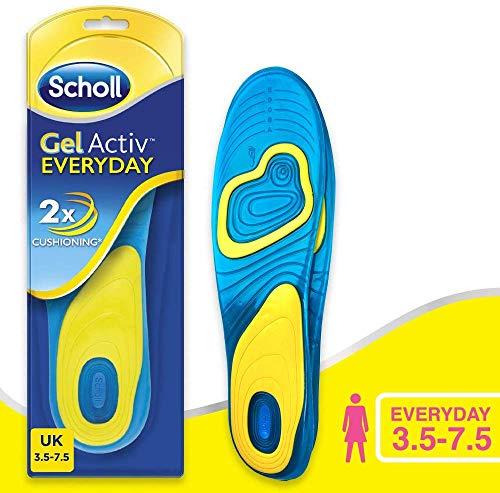 Scholl - Plantillas de Gel para Hombre y Mujer, Talla única