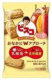 江崎グリコ ビスコ シンバイオティクス&ltはちみつりんご味&gt 10枚 ×10個