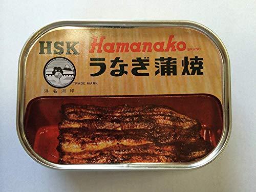 (3缶セット)(A) 浜名湖食品 うなぎ蒲焼缶詰×3缶
