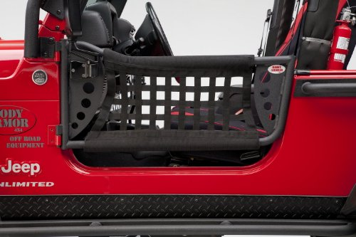 Body Armor 4x4 TJ-6137 GEN 3 Black Trail Door for Jeep TJ