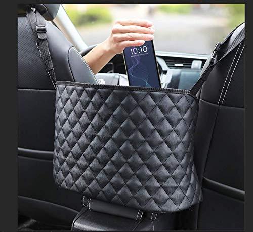 Hbsite Supporto per Borsa da Tasca in Rete per Auto, Rete Portaoggetti Auto, per Telefoni Cellulari, Portafogli, Borse per Cosmetici e Cartelle, ECC.