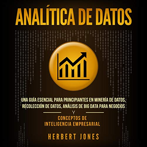 Analítica de datos [Data Analytics] audiobook cover art