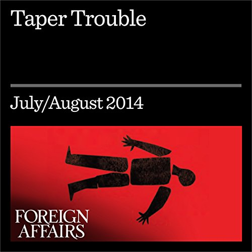Taper Trouble audiobook cover art