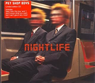 Nightlife - Ltd Edn Digipak & Slipcase by Pet Shop Boys