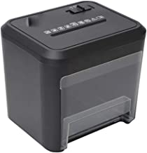 $161 Get L.HPT Paper Shredder, Desktop Mini Electricity Paper Shredder, Cross-Cut,2-Minute Continuous Running Time,Overload and Thermal Protection,3.5-Litre Pull-Out Wastebasket Capacity,432 Confetti,Black