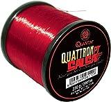 Quantum Quattron Salsa Großspule, Transparent Rot, One Size