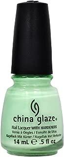 China Glaze Nail Polish Up Away RE-FRESH MINT Lacquer 80937 .5 oz Salon refresh