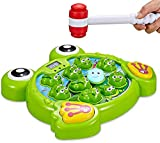Interactive Whack A Frog Game for Boys & Girls, Learning, Active, Early Developmental, Puzzle Pounding A Frogs Game of Age 3 4 5 6 7 8