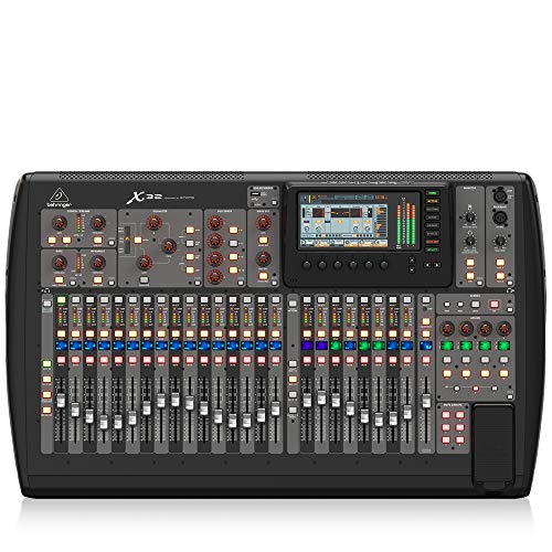 BEHRINGER, 32 40-Input 25-Bus Digital Mixing Console, Black (X32). Buy it now for 2489.00