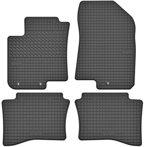Motohobby Gummimatten Gummi Fußmatten Satz für Hyundai i20 II (ab 2014) - Passgenau