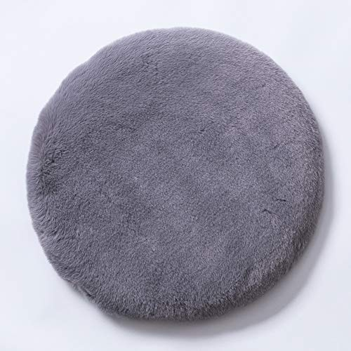 AMYDREAMSTORE Plush Round Tatami Floor Seat Cushion,Memory Foam Chair Pad Plush Round Bar Stool Pad Soft Chair Cushion,Cozy Dining Chair Pads