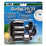 JBL 6023200Agua Flujo de Retorno Set con Amplia Jet para Exterior Filtro de acuarios, Fuera de Ancho