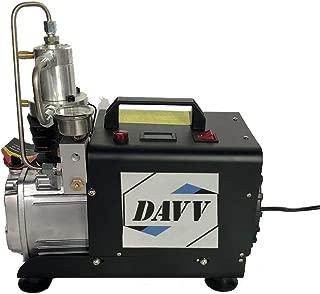 HPDMC 110v 300bar Portable Air Compressor Paintball Fill Station for PCP Game