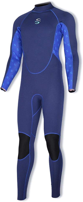 SLINX Men's Diving Suit Men's 2mm UltrapurpleProof Full Wet Suit 2Face Nylon Laminated SCR Diving Suit