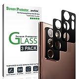 amFilm Galaxy Note 20 Ultra Protector de Cámara Trasera (3 Piezas), Protector de Cristal Templado para Lente de Cámara Trasera para Samsung Galaxy Note 20 Ultra (2020)