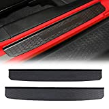 AUXMART Door Sill Guards Replacement for Jeep Wrangler JL 2018 2019 2020 2021 Entry Guards (2-Door)