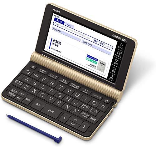 カシオ 電子辞書 生活・教養エクスワード XD-SX6500GD 160コンテンツ シャンパンゴールド 2020年モデル