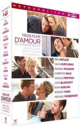 Trois films d'amour de Terrence Malick : A la merveille + Knight of Cups + Song to Song [Italia] [DVD]