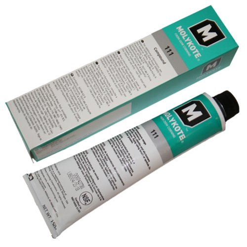 Molykote DOW 111 Lubricant & Sealant, 5.3 oz. Tube -  DOW Corning Chemical, X476