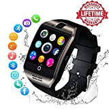 Smartwatch Bluetooth Smart Watch Phone Orologio Intelligente con SIM Card Slot Fotocamera Fitness...