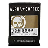 Alpha Coffee - Smooth Operator - 1 LB Premium Gourmet Craft Medium Roast Drip Grind Coffee | Veteran Owned - Specialty Small Batch Roasted Coffee | 100% Arabica Beans (Special Blend)