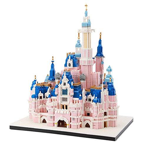 LIUDADA Micro Mini Blocks Disney Castle Series Modell Gebäude Set Ziegel Spielzeug, pädagogisches 3D Gebäude Spielzeug Ziegelstein Geschenk für Erwachsene und Kinder (6300 Stück)