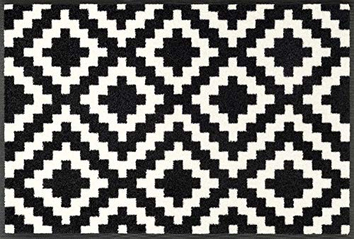 wash+dry Fußmatte Kalmar, 75x120 cm, innen und außen, waschbar
