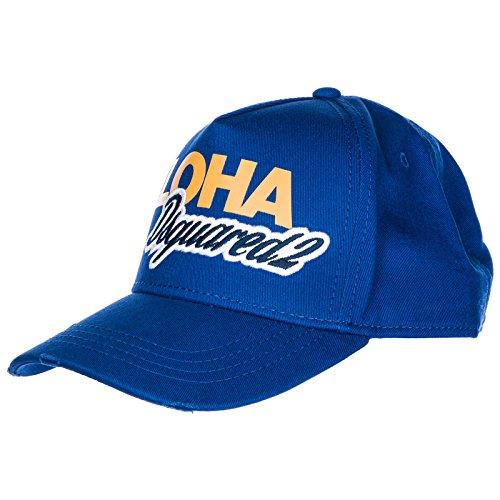 Dsquared2 cappello berretto réglable homme in coton Aloha ba