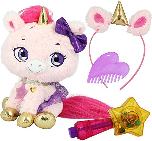 Shimmer Stars S19301 Twinkle The Unicorn Plüschtier, Rosa