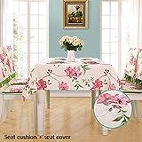 Yongge Rechteckige Tischdecke aus Stoff Wasserdicht Verbrühungsschutz Ölbeständiges Tischtuch...