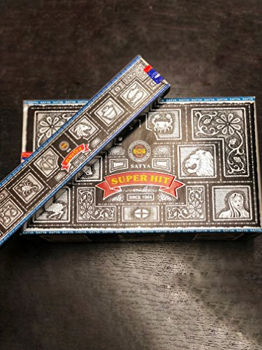 Satya Nag Champa Super Hit incienso (12 unidades x 15 g