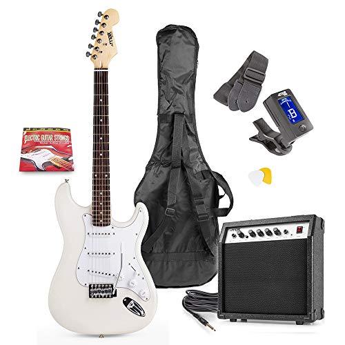 MAXMusic GigKit Elgitarrpaket Vit MAXMusic GigKit Elektriskt gitarrpaket, Vit