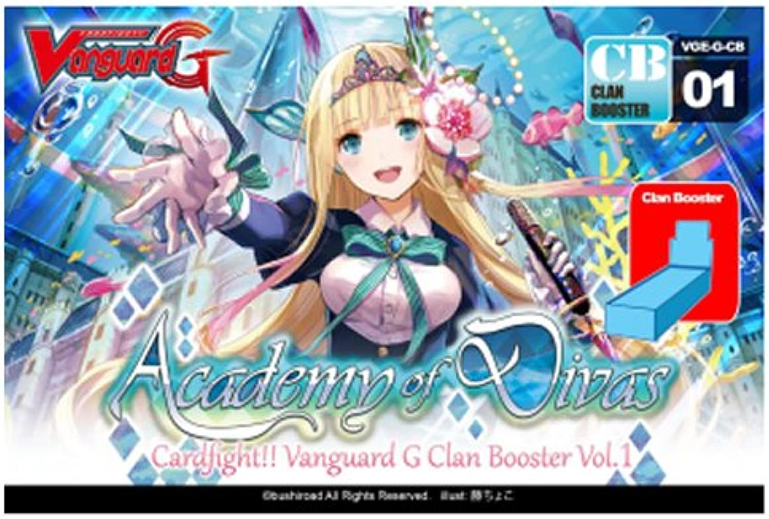 Cardfight   Vanguard Academy of Divas English Booster Box VGEGCB01