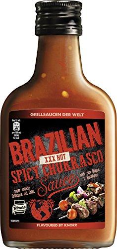 Knorr Brazilian Spicy Churrasco Sauce 200 ml (3 x 200 ml)