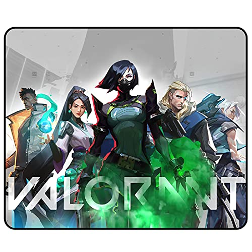 Video Game Mouse Pad - Rubber Game Esports Mouse Pads ,Non-Slip Mouse Mat with Delicate Edges,Mousepad for Gaming Kids Teens Adults Office Computer Laptop11.81 x 9.84 x 0.12Inch