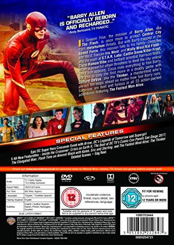 The Flash: Season 4 [DVD] [2017] [2018]