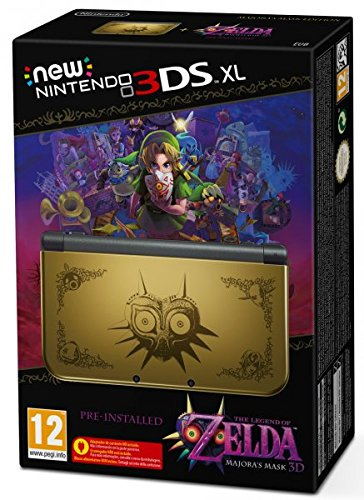 Nintendo 3DS - Consola XL The Legend Of Zelda: Majora's Mask 3D