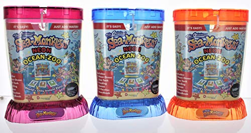 Schylling, Sea Monkeys Ocean Zoo, Colors May Vary