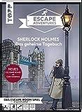 Escape Adventures – Sherlock Holmes: Das geheime Tagebuch (NEUE Codeschablone für mehr...