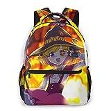 Womens Mens Konosuba Backpack, Casual Daypack