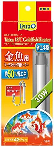 テトラ (Tetra) 18度 金魚用 省エネヒーター GH30 30W 1個 (x 1)