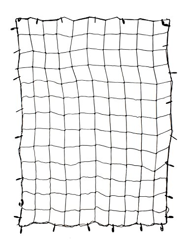 ABN Cargo Net with Nylon Hooks, 72 x 96 Inch for Trailers, Pickup Trucks, Rooftops, & More – Heavy-Duty, Multi-Purpose