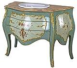 Barroco Lavabo Cómoda Armario de Vanidad Muebles de Baño Cuenco para Lavar cat191 Palazzo Exclusivo