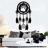 Dream Wall Decal Catcher Paw Bear Tema Tribal Dormitorio Sala de estar Tienda de...