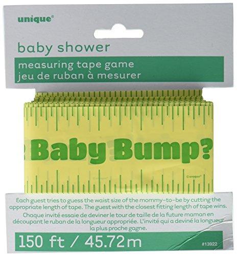 Unique Party 13922 babybuik-meetlint voor babyparty, 45,72 m